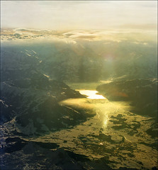 Sunset over Austrian Alps (Katarina 2353) Tags: aerialview austria katarina2353 katarinastefanovic
