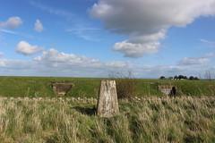 whorley hill trig (kokoschka's doll) Tags: trig hill reservoir clouds