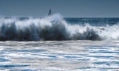 Splash, color (Hanna Tor) Tags: nature landscape seascape hannator blue wave splash