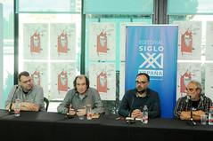 Taula redona sobre la història de SIGLO XXI 30/04/2017