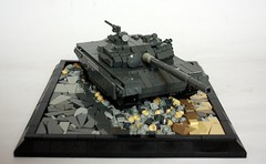 T-72AV (2) (Babalas Shipyards) Tags: tank lego military russian armour coldwar afv fightingvehicle