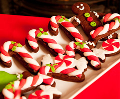 Christmas Cookies - photo shoot (Cakes By Jacques) Tags: christmas cookies cane bread ginger candy gingerbread biscuits candycane jacques cakesbyjacques candystripeparty