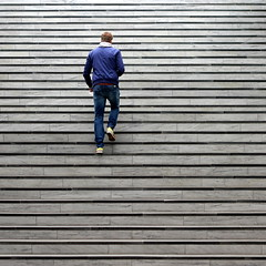 Caught by Lines (Noutyboy) Tags: boy man netherlands up lines station stairs composition canon person eos 50mm arnhem nederland thenetherlands railwaystation minimalism f18 trap niederlande lijnen 550 arnheim jongen trappen minimalisme treden compositie nout niftyfifty 2013 550d eos550d noutyboy