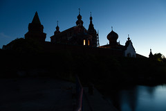 Nikolsiy Monastery. Staraya Ladoga, Volkhov district of Leningrad region (ivancharin) Tags: light color night landscape key russia low 5d    ladoga  staraya