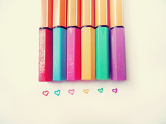 Hearts and Pencils (I want to be a shadow) Tags: boy summer cute love girl beautiful pencils vintage wonderful hearts photo amazing rainbow couple colorful drawing dream retro photograph iloveyou draw awww lovely dreamer 2013 summer2013 wasome