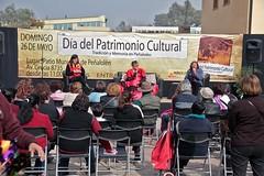 Día del patrimonio (5) (Municipalidad de Peñalolén) Tags: carolina arpillera zapatero oficios afilador leitao chinchinero peñalolén tertulias algodonero alcaldesa díadelpatrimonio