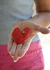 Knitted felted heart Svarowski crystals and golden beads (snakeandrose / socksandmittens) Tags: red felted heart handmade brooch jewelry etsy knitted goldenbeads svarowskicrystals socksandmittens