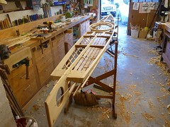 Bill's Baidarka (nomadboatbuilding) Tags: kayak vic woodenboat qayaq traditionalboat baidarka skinonframekayak nomadboatbuilding markreuten traditionalinuitkayak ikyax