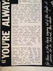 14_Nose2_Spring1988 (ethan pettit) Tags: art brooklyn williamsburg bushwick zines avantgarde artmedia artistbooks artpress artmagazines brooklynrenaissance artpublishing