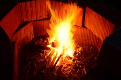 Fire (IgorW2013) Tags: hot fire nikon bricks multipleexposure burning flame flare blaze feuer flamme brennen multiexposure flammen heiss ziegel ziegelsteine mehrfachbelichtung lodern nikond800 lodernd
