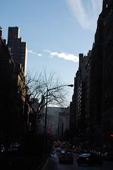 Park Avenue (koborin) Tags: nyc newyorkcity travel sky cloud ny newyork manhattan uppereastside parkavenue east75thstreet