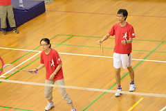2013-08-02 18.16.07 (pang yu liu) Tags: sport yahoo y exercise contest competition final aug badminton engineer tw 08       2013