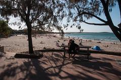 Shadow at the Beach (MrBlackSun) Tags: oz australia qld queensland noosa aussie noosaheads noosanationalpark