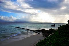Entres maritimes  l'le du Caret, Gwada (NyFa Queralita) Tags: wonderful photo nikon guadeloupe meteo antilles stratocumulus lagon let nikond3100 entresmaritimes ileducaret airhumide