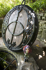 Chalice well (Sioux the Moo) Tags: mushroom mystery dolls peace magic tranquility fairies imps elves chalicewell 3dprinting makies