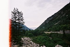 (kylesipple☬) Tags: trees mountains film nature forest 35mm landscape utah nikon saltlakecity 35mmfilm f3 nikonf3 35mmphotography filmgrain