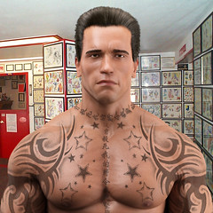 Arnold 3d Tattoo: Robert Bogdany (Facebook\Artist: Bobby Boggs.) Tags: park new york boy italy storm news art robert beach halloween apple america photoshop silver neck movie walking logo dead graffiti bay bloomberg cafe paint flickr artist gallery ship power graphic maya little zombie bronx president alien jesus jimmy spray aliens adobe xmen ave 80s hollywood 70s com bible movies bobby cans 12 morris zombies deviantart et worth1000 obama edgewater league pelham tremont facebook barack squre meagher boggs nephilim vacca throgs 10465 westchster bogdany