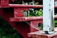 Old red stairs (Gab Rey) Tags: stairs escaleras