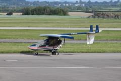 G-MYTH (aitch tee) Tags: airport aircraft cardiff visitors aeros