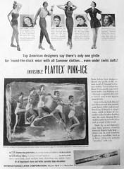 43 1951 (Undie-clared) Tags: girdle playtex pinkice