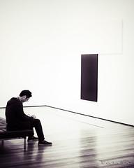 MoMA, my feelings... (belthelem) Tags: nyc usa ny newyork black art byn blancoynegro museum modern nikon moma museumofmodernart nuevayork eeuu d700