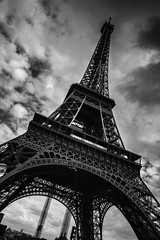 Eiffel tower (Lena Gimanova Photography) Tags: white black paris france tower eiffel