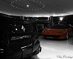Clash of the Titans! (TAF27) Tags: auto mall italia ferrari ibn f12 mansi berlinetta 458