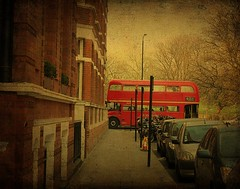 London .. the famous No 9 bus