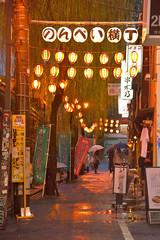 Shibuya007 (Kosei.S) Tags: street rain japan night paper japanese tokyo nikon day shibuya rainy lantern d800 yokocho nonbei vision:night=073 vision:text=065