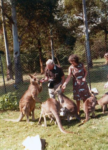 Alex Barlow, Jean Hart. Australia 1970s