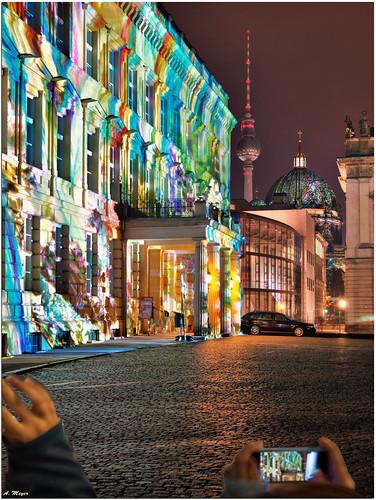 Berlin Festival of lights 2013