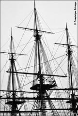 Rochefort. (dominique tricasse) Tags: bateau hermione rochefort charentemaritime poitoucharentes frégate