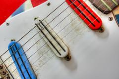 USA Guitar (7 of 12) (Kevin Borland) Tags: usa closeup arlington virginia guitar instrument northamerica strings pickups electricguitar playmate maywood dimarzio deanz