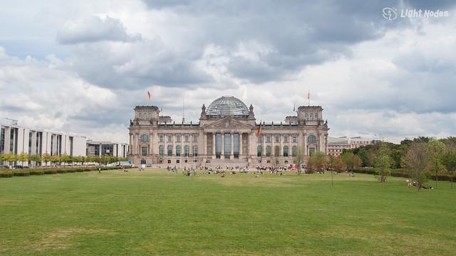 Reichstag Berlin (Parliament) 1894