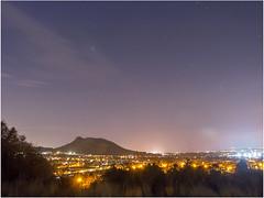 Edinburgh At Night From Blackford Hill (StevenMBeard) Tags: scotland edinburgh nightsky nightscene blackfordhill