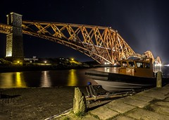 Forth Bridge (BusterBB001) Tags: longexposure money castle tourism station gardens night scotland edinburgh capital bridges trains security poppy royalmile queensferry forthroadbridge railbridge princessstreet rememberence scottsmonument clericalmedical museumonthemound dalmany