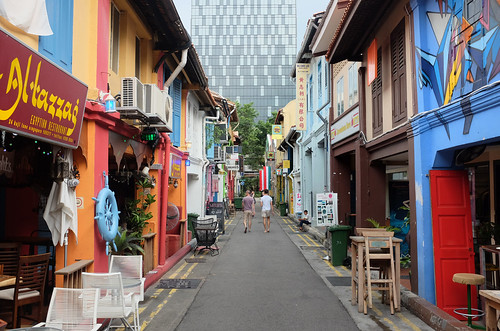 Haji Lane by Jnzl