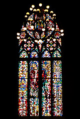 Stained glass (Osdu) Tags: catholic cathedral russia moscow stainedglass romancatholic religios thecathedraloftheimmaculateconception romancatholicarchdioceseofmoscow thecathedraloftheimmaculateconceptionoftheholyvirginmary