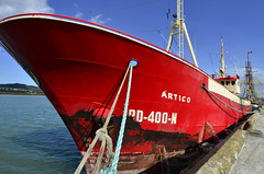 Red baron (MJField) Tags: newzealand portuguese whangarei artico fishingvessel