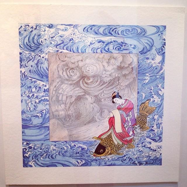 """""""De Leonardo al anónimo japonés"""" • """"El Diálogo, el Pastiche y la Memoria"""" #muestra individual de Ramiro Pareja Herrera #arte #arteenlima #art #artinlima #artist #artista #pintura #painting"""