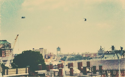 Army Helicopters over Boston