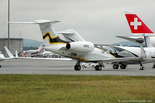 N1KE Gulfstream V of Hum-Air Too LLC/Nike Inc.