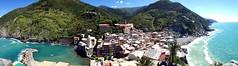 Vernazza Panorama - iPhone 4S (Crumblin Down) Tags: city vacation italy panorama holiday vatican rome italia stitch panoramic pisa siena vernazza 4s iphone