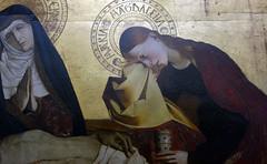 Pietà of Villeneuve-lès-Avignon, detail with Mary Magdalene, c. 1455