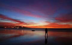 (IrreBerenT) Tags: sunset red sky nature autorretrato ocaso cantabria sanvicentedelabarquera pasmada irreberente
