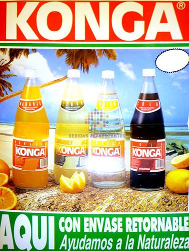 "Konga. ""Ayudamos a la naturaleza"". Años 80"