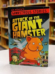 Attack of the Giant Hamster (Vernon Barford School Library) Tags: new school fiction pet pets monster giant reading book rodent experiments high humorous dr library libraries humor attack reads experiment books super science humour read paperback story doctor cover hamster junior novel covers monsters bookcover pick middle roach stories vernon quick rodents recent hamsters qr bookcovers scienceexperiment paperbacks monstrous novels fictional humourous barford softcover scienceexperiments quickreads quickread quickpick vernonbarford softcovers superquickpicks superquickpick 9780545425551