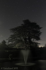 Fountain (Andy Pandy Pooh) Tags: house tree fountain night stars andover astro astrophotography amport afcc