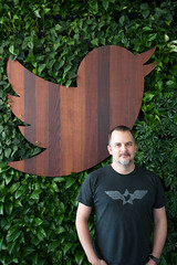 Jeff Sandquist at Twitter HQ (Scott Beale) Tags: jeffsandquist twitter
