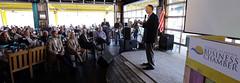 03-21-2014 Governor Bentley Addresses Coastal Alabama Business Chamber at Lulu's